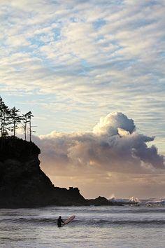 Surfs Up ~ Sunset Bay State Park, Oregon Coast :: © Patricia Davidson http://pddesignsimages.com