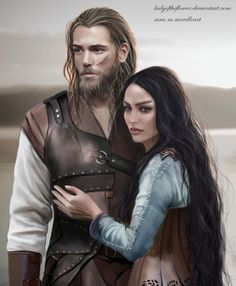 Beren and Luthien by Ladyoftheflower