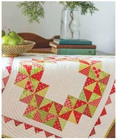 A Scrapbook of Quilts was just released and can I just say, it is amazing!!!! Co-Authors Joanna Figueroa and Carrie Nelson hit it out of the part with this one, and I was honored to make one of the projects in their amazing book Christmas Quilt Patterns, Half Square Triangle Quilts, Mug Rugs, Christmas Design, Holiday Wreaths, Quilting Projects, Pattern Making, Quilt Blocks, Scrapbook