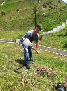 Paul Zaman sponsored and planted 3 mulberry trees in Kechara Forest Retreat