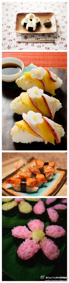 pretty Sushi #Sushi #Sushimi