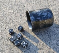 Forged Dices and Dice Cup