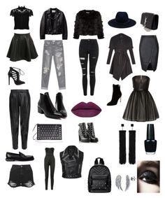 """Untitled #7"" by alexanderalechito-slepcik on Polyvore featuring Topshop, One Teaspoon, Alice + Olivia, MuuBaa, Pilot, Diesel, Yves Saint Laurent, rag & bone, BCBGeneration and Sergio Rossi"