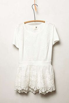 Anthropologie - Kenai Peplum Top // THIS IS SO PRETTY