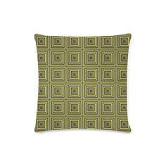 Square Tiles Custom Zippered Pillow Case 16