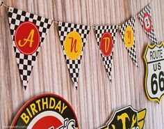 Easy DIY birthday banner idea