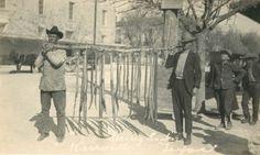 Men with Rattlesnakes. Kerrville Texas, undated