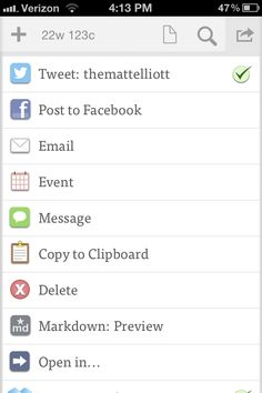 Getting started with Drafts for iOS via @CNET