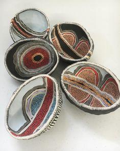 Today's offerings #workinprogress #ceramics #contemporary #indigenous…