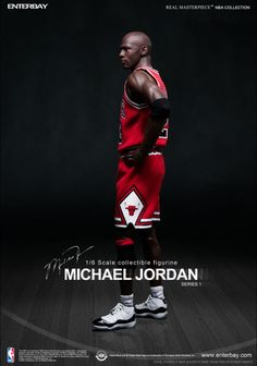 NBA x Enterbay Michael Jordan 1/6 Scale 'Away' Figure | Sole Collector