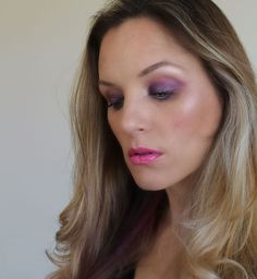 Pink and purple makeup look with Pop Beauty - by @iliketotalkblog for @mybeautybunny
