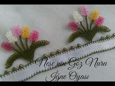 Çok Beğeneceğiniz Harika Bir Yazma Modeli - YouTube Crochet Borders, Crochet Top, Crochet Patterns, Piercings, Needle Lace, Quilling Jewelry, Crochet Flowers, Tatting, Diy And Crafts