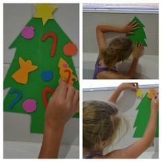 Foam Christmas Tree Bath Fun