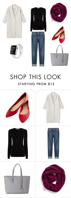 """""""базовые вещи"""" by asya-hr ❤ liked on Polyvore featuring Wet Seal, Monki, Oasis, 7 For All Mankind, Michael Kors and Halogen"""