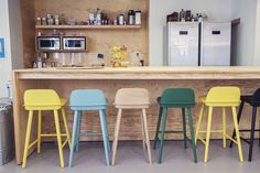 Muuto Visu Bar Stool http://www.bigbrands.nl/design/barkrukken/muuto/mika-tolvanen-/muuto-visu-bar-stool/muuto-visu-bar-stool-65.html