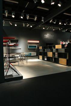 Müller Möberlfabrikation at IMM Cologne 2014