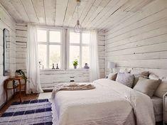 Hogar y jardín: Una casa de verano vestido de blanco