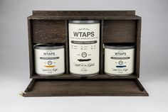 WTAPS Powder Paint (Student Project) on Packaging of the World - Creative Package Design Gallery