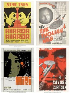 Star Trek - The Original Series Posters - Set 6 by Animewild. $36.02. Officially Licensed. We've taken the voyages of the starship Enterprise one adventure further with a series of original movie-style art print sets commemorating every episode of Star Trek, the iconic American television series that aired from 1966 to 1969. The Original Series has become a cult classic, and its leading-edge plot lines and mores have influenced many science-fiction TV shows an...