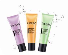 1-2-3 βήματα ομορφιάς Ξεκίνα με τη μωβ απολεπιστική Lierac Gommage Douceur, συνέχισε με την πράσινη καθαριστική μάσκα Lierac Masque Purete και τελείωσε χωρίς να ξεβγάλεις με την απόλυτη κρέμα-μάσκα Lierac Eclat για λάμψη + βιταμίνες Beauty Care, My Favorite Things