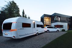 2014 Hobby Premium Caravan. Not available in the US.