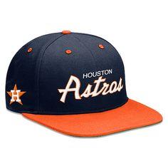 Astros Cooperstown Snapback Cap