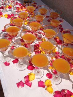 cocktail de bienvenida #wedding #weddingcolors