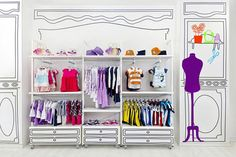 Wall Space Display Ideas « Retail Details | Ideas Discovered, Pinned and Provided by CNI : Retail Innovations. Find More For your store at http://hub.am/YZXCeX     | #retail #fixtures #interiors #displays #ideas #store #concepts #furniture #inpsiration