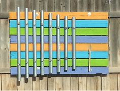 Outdoor Music Space - How to Make a Metal Pipe Xylophone | With tuning instructions, charts, calculator