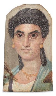 'Fayum' mummy portraits at DuckDuckGo In Ancient Times, Ancient Rome, Ancient Art, Egyptian Goddess, Egyptian Art, Egypt Mummy, Mythological Characters, Non Blondes, Egyptian Mummies