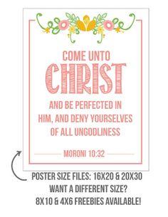 2014 LDS Young Women's Mutual Theme Printable by MyOwnBrandofHappy, $5.00