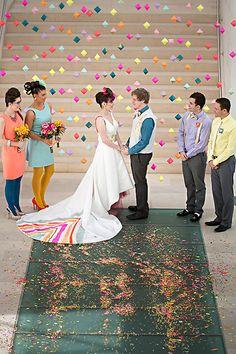 Na, ist das kein wunderbarer Anblick? :D Das sieht man nicht auf jeder Hochzeit! ;)