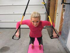 R-punktet og basis slyngetrening. Fem gode øvelser å startet med for å trene hele kroppen. Tilpass for lettere eller tyngre.