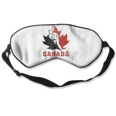 BestSeller Canada Flag Sleep Mask/Sleep Eyes Mask/Sleeping Mask/Eyeshade/Blindfold *** Continue to the product at the image link. (Note:Amazon affiliate link)