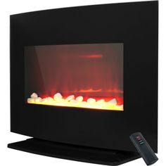 ProLectrix 804998 Windsor Wall Mounted or Free Standing Electric Fireplace * See this great product. (This is an affiliate link) #HomeDecor