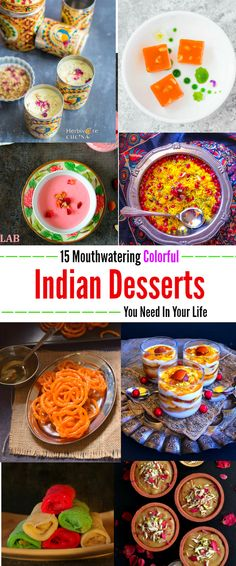 15 Mouthwatering Colorful Indian Desserts Recipes You Need In YourLife : #holi #indian #dessert #recipes