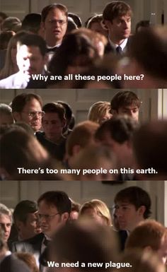 The office :).on a side note: my mom has definitely said that to me before. She doesn't watch the office. Haha Funny, Hilarious, Funny Stuff, Funny Work, Funny Things, Power Couple, Funny Quotes, Funny Memes, Funny Office Quotes