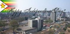 Independence Day in Zimbabwe is celebrated on the eighteenth of April.