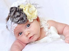 I love this color scheme for a baptism or christening. Such a classic look.