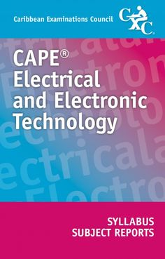 CAPE® Electrical and Electronic Technology Syllabus and Subject Reports eBook
