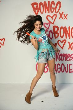 Vanessa Hudgens Is Bongo's New Face! I love Vanessa, she seems so sweet and real, and she is an amazing role model for me. She looks really healthy and happy!
