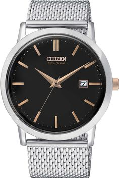 3f7f54b9936728  CitizenWatchUK Eco Drive Mens Mesh Bracelet  2015-2016-sale  bezel-