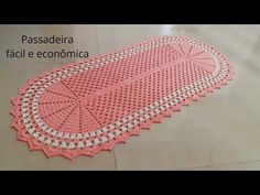 Crochet Doily Patterns, Crochet Doilies, Crochet Table Mat, Crochet Videos, Ale, Outdoor Blanket, Youtube, Crochet Doily Rug, Kitchen Playsets
