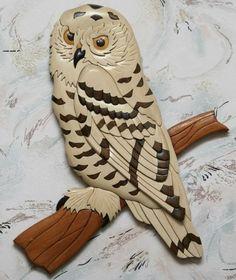 Wood Intarsia by Russian craftsman Oleg Pankov