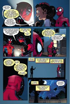 Spider-Man Meets Deadpool's Daughter 2