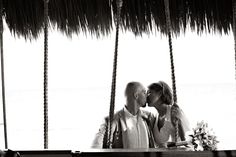 Our wedding in Mexico. :-) Photo by Elizabeth Medina