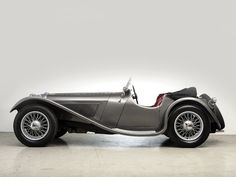 1936 Jaguar SS 100 Roadster retro s-s e