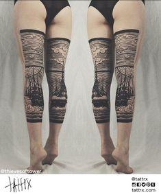 Thieves of Tower Tattoo | Greensboro, North Carolina tattrx.com/artists/thieves-tower #ink #tattoo