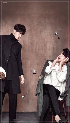 Goblin Funny, Goblin Kdrama Funny, Korean Celebrities, Korean Actors, Lee Dong Wook Wallpaper, Attractive Male Actors, Goblin The Lonely And Great God, Goblin Korean Drama, Goblin Art