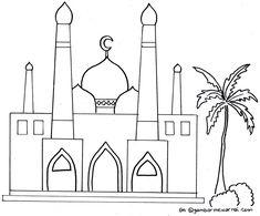 Gambar Mewarnai Ramadhan Preschool Coloring Pages, Colouring Pages, Coloring Pages For Kids, Coloring Books, Ramadan Activities, Ramadan Crafts, Ramadan Decorations, Heart Wallpaper, Galaxy Wallpaper